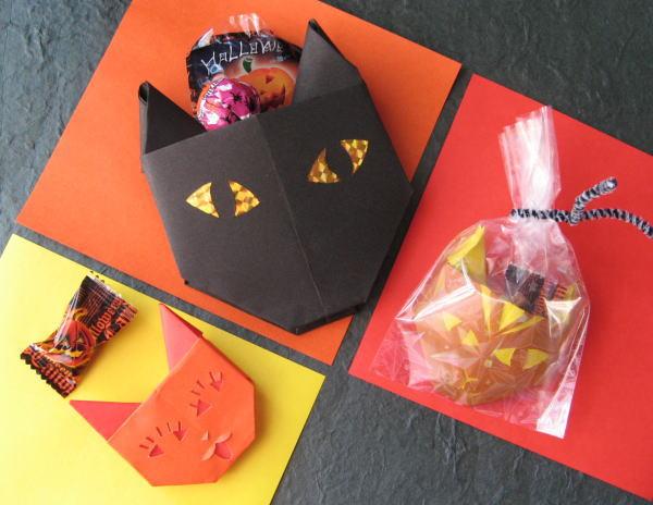 すべての折り紙 折り紙 猫 折り方 : 折り方に慣れると色んな猫顔を ...